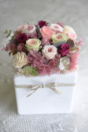 preserved: a beautiful present, preserved flower