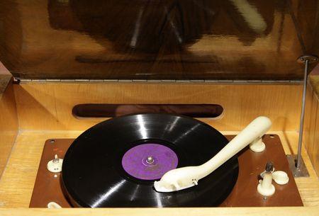 Los discos de vinilo antiguos tocadiscos de Foto de archivo - 3069242