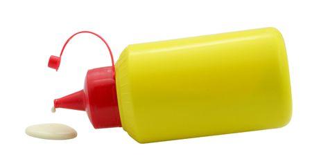 kunststoff rohr: Tube Klebstoff-and-Drop isoliert auf weißem