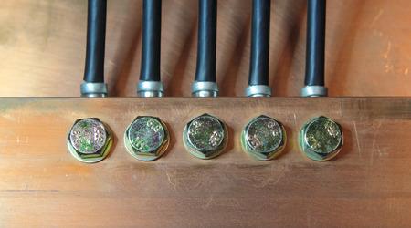 ferrous: big electricity copper conductor