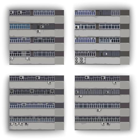windows, pattern Illusztráció