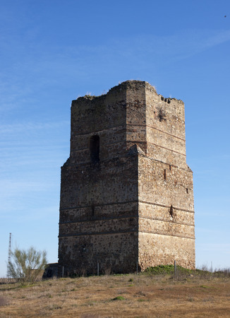 edificación: Torre de Puebla del Maestre, Badajoz, Extremadura, Espa�a, Europa