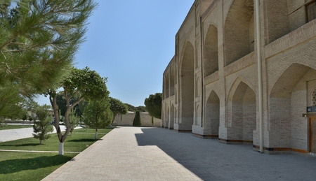 worshipped: The MEMORIAL COMPLEX of BAHAUDDIN NAQSHBANDI (1318-1389), is a center of pilgrimage as it was worshipped not only in Bukhara but also in the whole Islamic world.