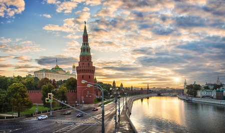 Dawn over the Kremlin