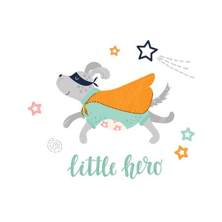 Super hero dog for children Ilustrace