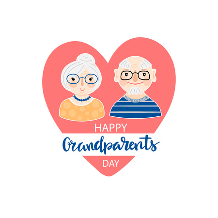Happy Grandparents day background
