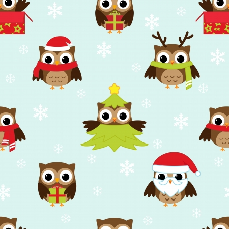 wrapping animal: Christmas and New Year Illustration