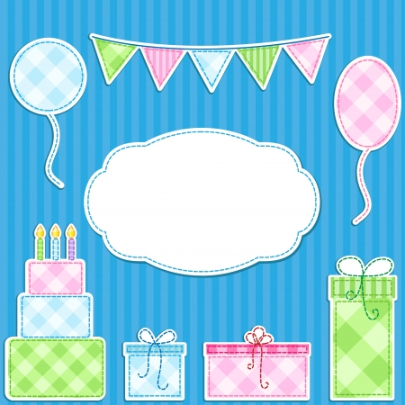 Birthday card Stock Vector - 13843850