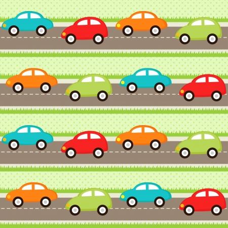 transportes: Modelo incons�til con los coches de la historieta