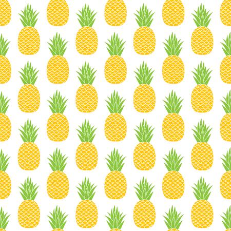 Pineapple vector background