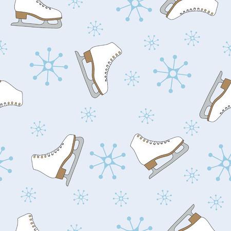 Winter naadloze patroon