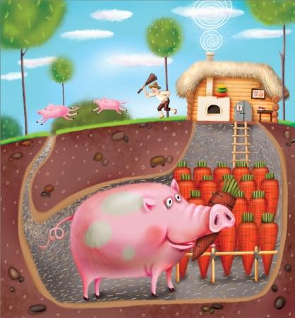 farmyard: Smart Pig