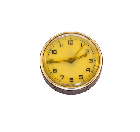 Old fashioned clock Stock Photo
