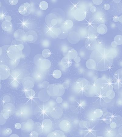 Winter background, bright bokeh background Stock Photo