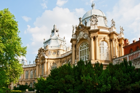 The building of agricultural Museum of Hungary, Budapest