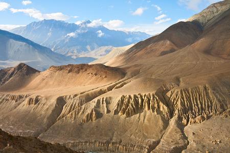 上部マスタング風景、アンナプルナ保全エリア、ネパール 写真素材 - 27551888
