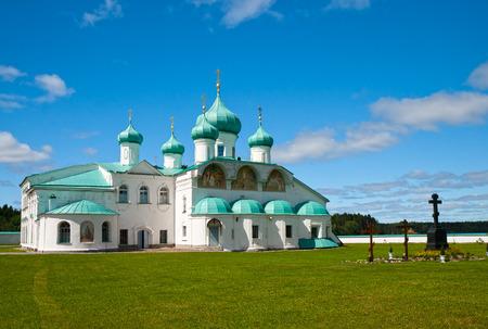 Russian Orthodox Alexander-Svirsky Monastery, Russia photo