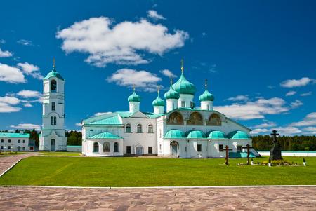 Russian Orthodox Alexander-Svirsky Monastery in Leningrad region, Russia photo