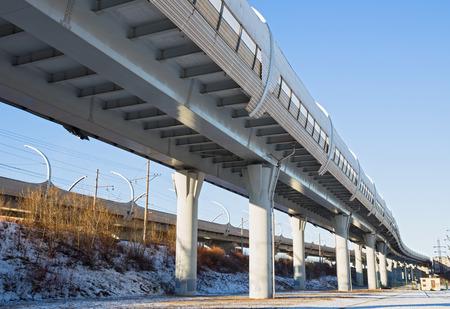 highspeed: Western High-Speed Diameter is a toll motorway in Saint Petersburg, Russia