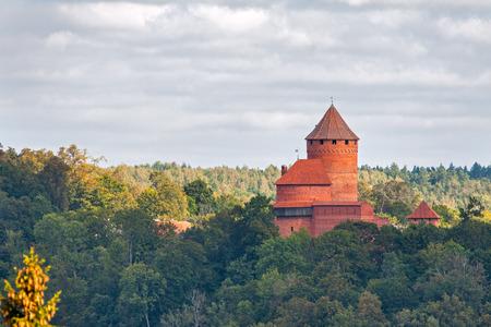 sigulda: Castillo de Turaida en Latvia, Letonia
