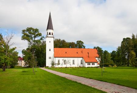 sigulda: Old Lutheran Church of St. Berthold in Sigulda