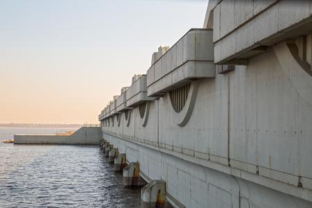 culvert: Saint Petersburg Flood Prevention Facility Complex, culvert construction