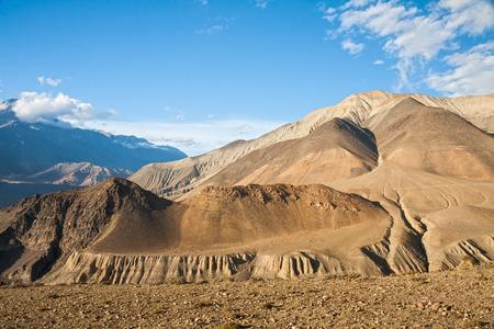 Haut Mustang paysage de montagne, zone de conservation de l'Annapurna, au Népal Banque d'images - 40168614