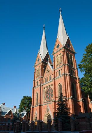 francis: Catholic St. Francis Church in Riga, Latvia