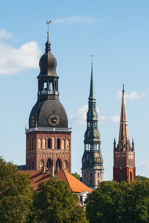 anglican: Sights of Riga - Dome Cathedral, the Church of St. Peter and the Anglican Church