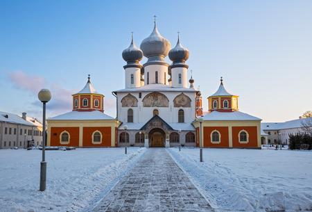 assumption: Assumption Cathedral of Tikhvin Assumption Monastery, Russia