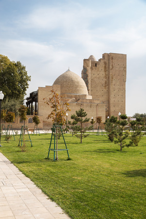 Memorial Complex Dorus-Saodat, monument of the Timurid Dynasty in Shakhrisabz, Uzbekistan