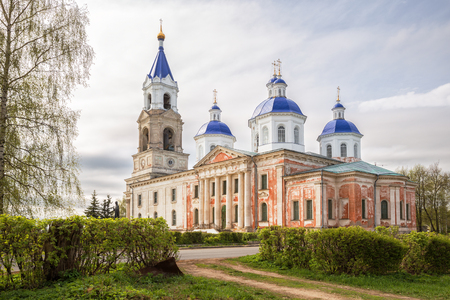 Ancient Resurrection Cathedral in Kashin, Tver region, Russia