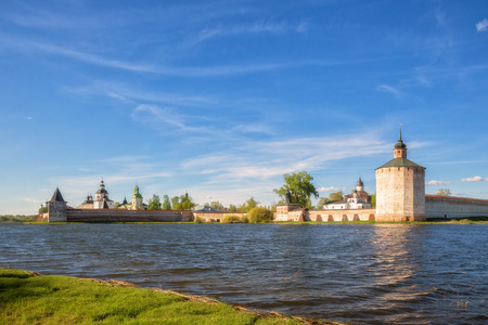 Kirillo-Belozersky Monastery on the shore of Siverskoye Lake, Kirillov, Vologda region, Russia