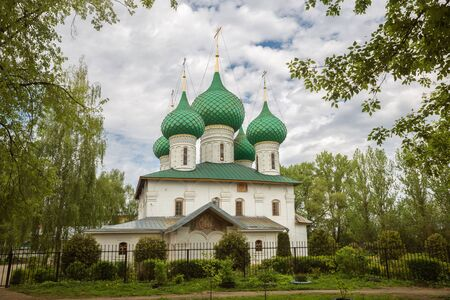 Yaroslavl, the Church of St. Nicholas the Wonderworker in Melenki of the 17th century. Golden ring of Russia 写真素材