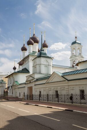 Cyril and Athanasius monastery in Yaroslavl on a summer sunny day. Golden ring of Russia
