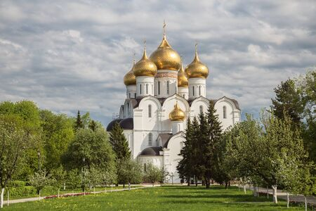 Assumption (Dormition) Cathedral in Yaroslavl on a summer sunny day. Golden ring of Russia 写真素材