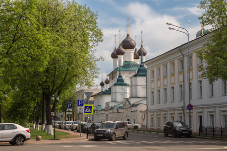 YAROSLAVL, RUSSIA - MAY 13, 2019: Cyril and Athanasius monastery in Yaroslavl on a summer sunny day. Church of the Savior of the Miraculous Image. Golden ring of Russia 写真素材 - 134758477