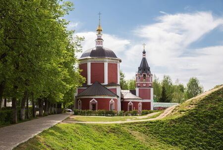 Suzdal, Golden Ring of Russia. Church of the Assumption of the Blessed Virgin Mary (Uspenskaya Church)