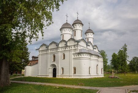 Cathedral of Deposition of Robe of the Mother of God in Rizopolozhensky Monastery in Suzdal. Robe Deposition Monastery is one of oldest monasteries in  city of Suzdal, Golden Ring of Russia