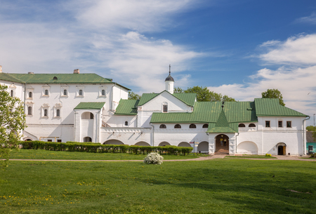 SUZDAL, RUSSIA - MAY 15, 2018: Suzdal Kremlin Museum in the Bishops Chambers of ancient city of Suzdal, Golden Ring of Russia 写真素材 - 136769643