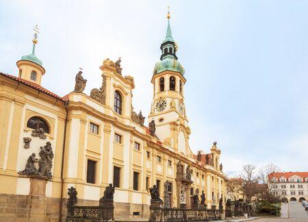 Prague Loreta, one of the main attractions of Prague, Czech Republic