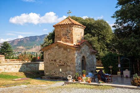 Old church of St. Nino in Samtavro monastery, Mtskheta, Georgia