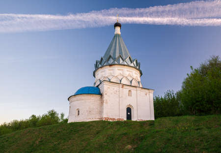 Old tent-roofed church of Cosmas and Damian (built in 1565) in Murom. Golden Ring of Russia