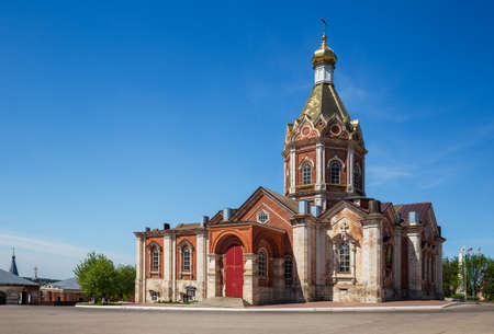 Ascension Cathedral in the center of Kasimov town, Ryazan region, Russia