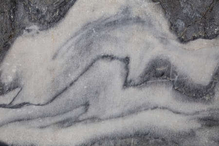 Natural background, marble texture. Fragment of the wall of marble quarry in Ruskeala, Karelia 免版税图像