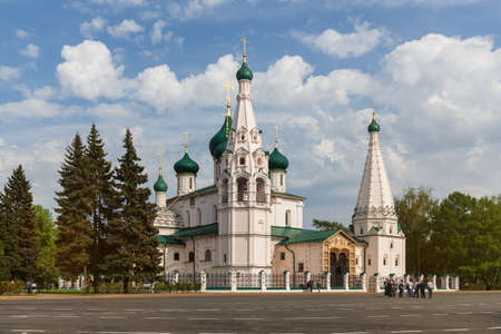 Yaroslavl Church of Elijah the Prophet. The Golden Ring of Russia