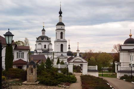 Nikolsky Chernoostrovsky monastery in Maloyaroslavets, Kaluga region, Russia