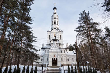 Church of Our Lady of Kazan in Zelenogorsk, St. Petersburg, Russia