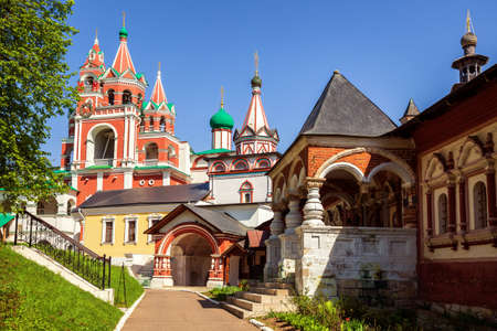 Ancient Savvino-Storozhevsky monastery in Zvenigorod, Moscow region, Russia