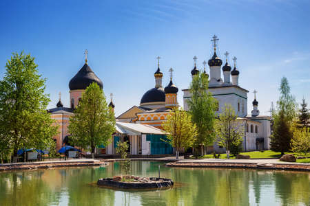 Ascension David's hermitage in the village of Novy Byt (New Life). Moscow region, Russia